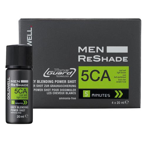 Goldwell - 5CA Men Reshade 4 Shots X 20ML Erkek Saç Boyası