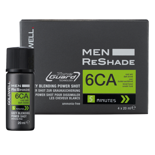 Goldwell - 6CA Men Reshade 4 Shots X 20ML Erkek Saç Boyası