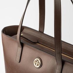 - Active Deri Kadın Alışveriş Çantası Kahverengi