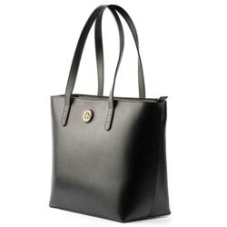 - Active Deri Kadın Alışveriş Çantası Siyah