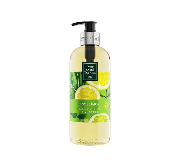 Çeşme Limonu Doğal Zeytinyağlı Sıvı Sabun 500 ml