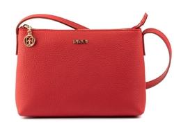- Deri Kadın Kırmızı Çapraz Çanta Floater
