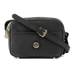 - Deri Kadın Siyah Çapraz Çanta