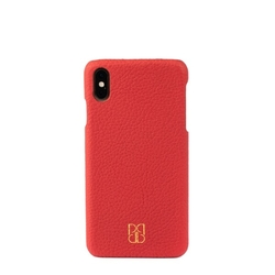 Pirci - iPhone XS Max Deri Kılıf Kırmızı