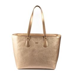 - Kadın Altın Alışveriş Çantası