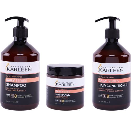 Karleen - Karleen Daily Günlük Saç Bakım Seti 500 ml