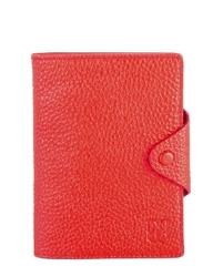 - Kırmızı Pasaportluklu Deri Cüzdan