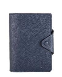 - Lacivert Pasaportluklu Deri Cüzdan